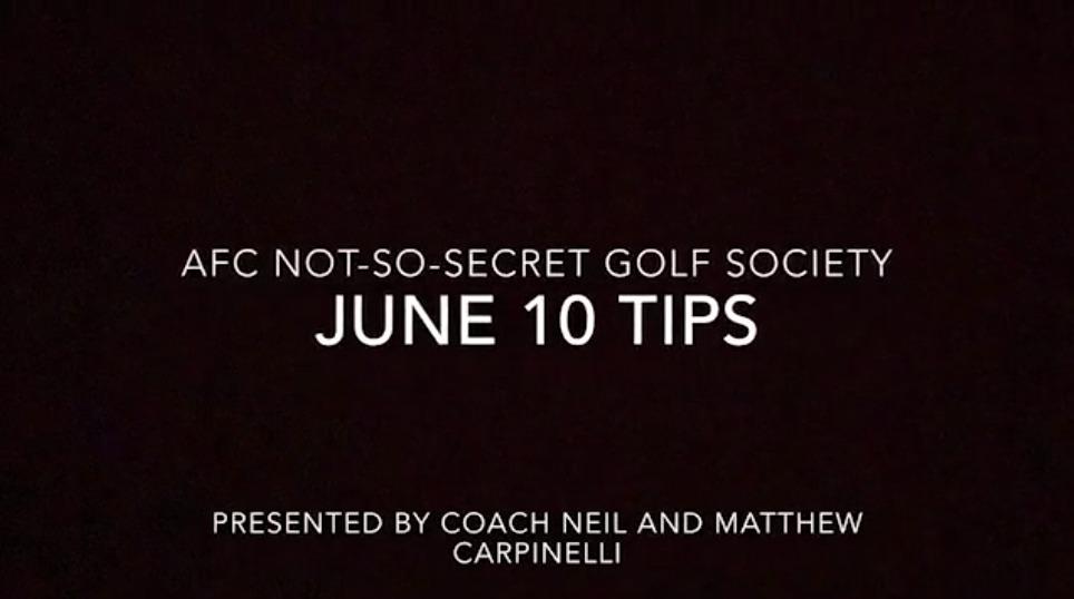 AFC Not So Secret Golf Society